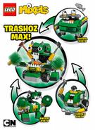 Trashoz Max instructions