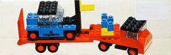 684-Low-Loader with Fork Lift Truck