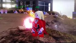 Red lantern supergirl 5