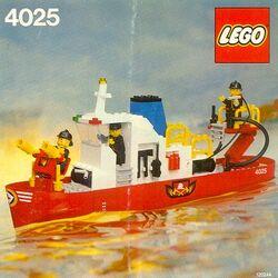 4025 Fire Boat