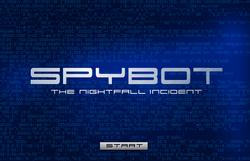 Spybotics NI Starting Screen