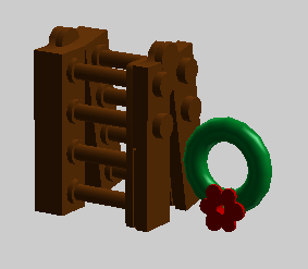 Ladder Wreath
