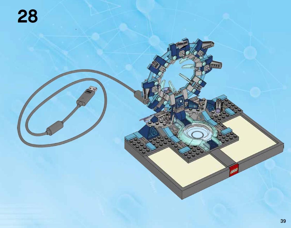 image lego dimensions starter pack building instructions. Black Bedroom Furniture Sets. Home Design Ideas