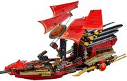 Lego Ninjago Final Flight of Destiny's Bounty 9