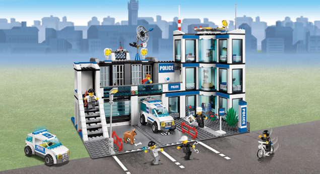 7498 le commissariat de police wiki lego fandom powered by wikia. Black Bedroom Furniture Sets. Home Design Ideas