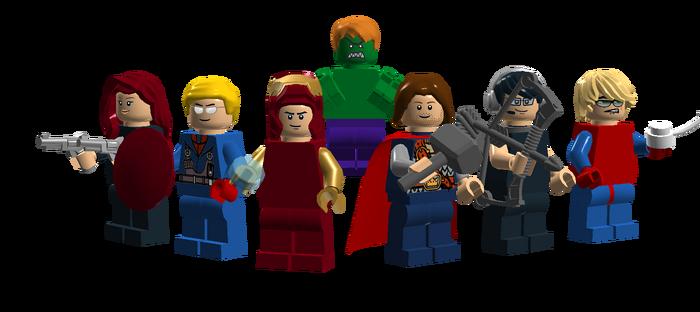 Brickipedia Avengers