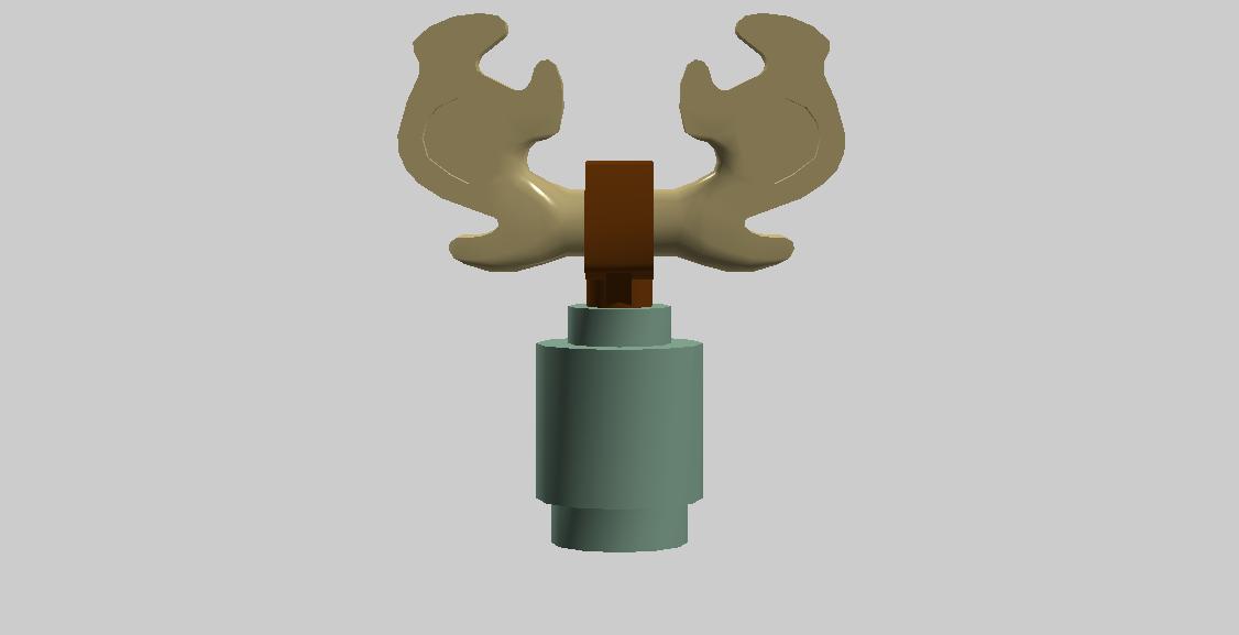 Plankton The Tiny Reindeer