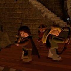 Gimli, Legolas, and Aragorn