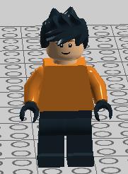 Rex minifig
