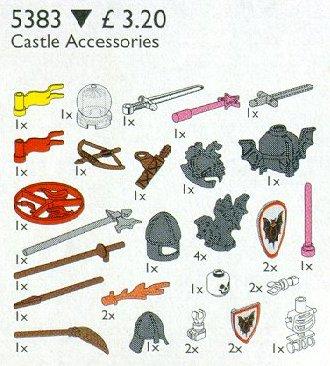 5383 Castle Accessories