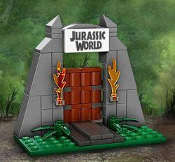 LEGO Jurassic World Gate