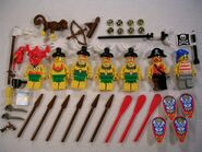 6278 Minifigures and Accessories