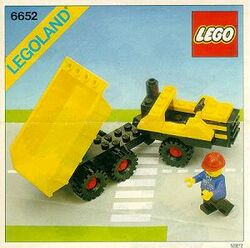 6652-Construction Truck