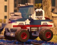 Captain America Monster Truck