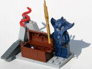 Brickmaster Atlantis - Kristall Fund - Schatz