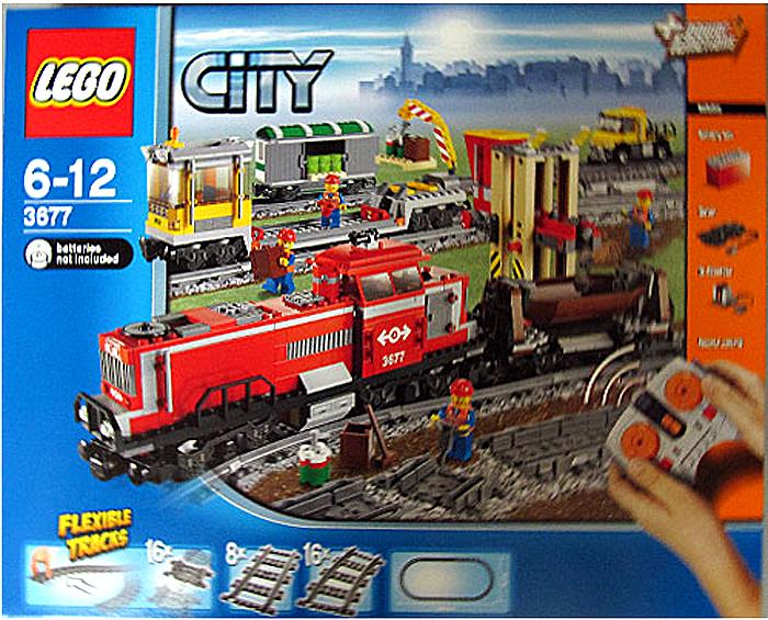 3677 Red Cargo Train   Brickipedia   FANDOM powered by Wikia