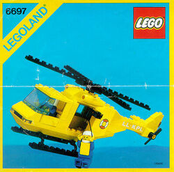 6697 Rescue-I Helicopter