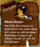 Alexia Sinister bio