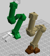 Lego discord legs