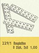 229.1-2 x 8 Plates