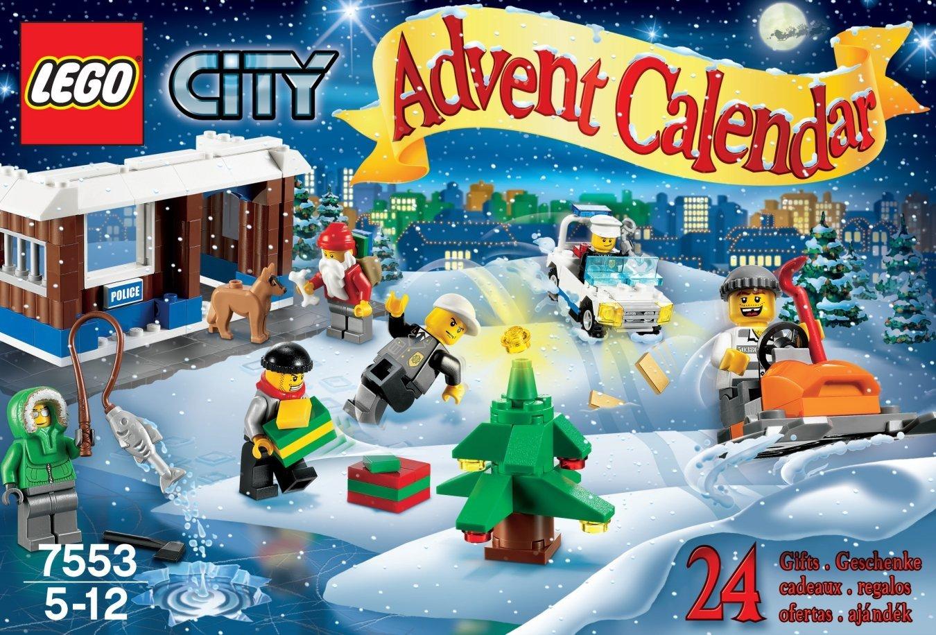 7553 le calendrier de l 39 avent city wiki lego fandom powered by wikia - Adventskalender duplo ...