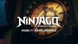 Secrets Discovered (Title Card)