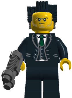 Mayor Brickness