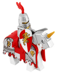 Lion Knight on Horse
