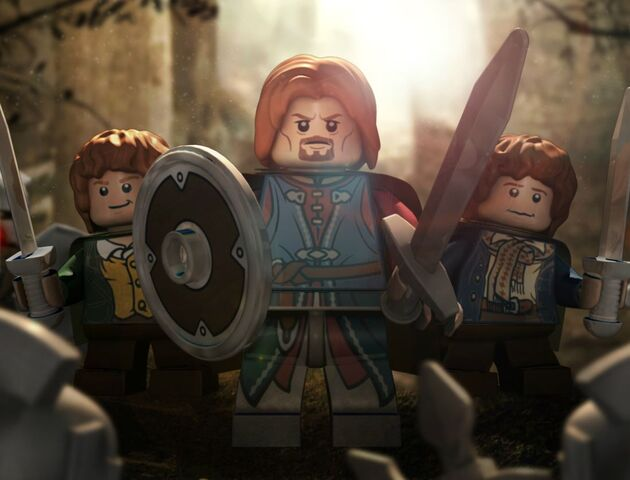 File:Boromir, Merry and Pippin Poster.JPG