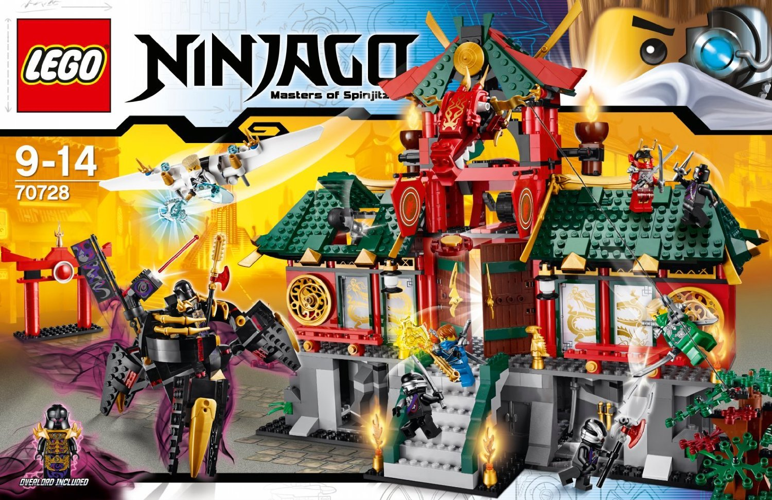 70728 battle for ninjago city brickipedia fandom - Jeux ninjago final battle ...