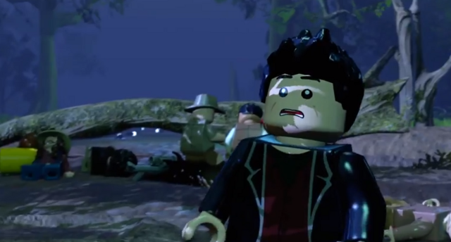 File:LEGO Jurassic World The Videogame T-rex in the tent.PNG