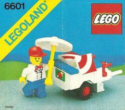6601 Ice Cream Cart
