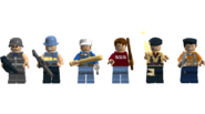 The Last Of Us Multiplayer All Minifigures