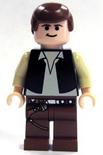 Han Solo light flesh brown legs