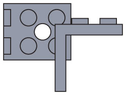 970036-2 x 2 Angle Plate