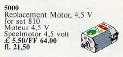 5000-Replacement 4.5V Motor
