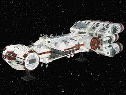 10019-1 Rebel Blockade Runner
