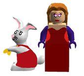 Jessica and Rodger Rabbit