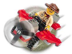 5911 Johnny Thunder's Plane