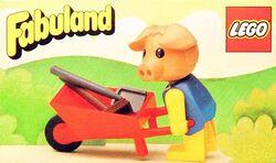 3615-Percy Pig's Wheelbarrow