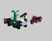 LEGO Malaysian Tapirs