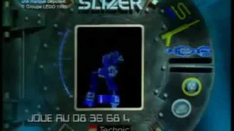 Lego Sub Slizer Commercial (French)