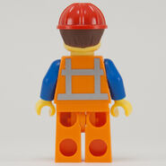 Hard Hat Emmet Back With Hat