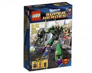 Superman vs. Power Armour Lex Luthor