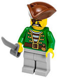 70412 Pirate (Green shirt)