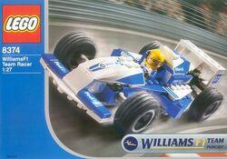 8374 Williams F1 Team Racer