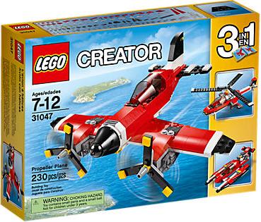 File:LEGO Creator Propeller Plane.png