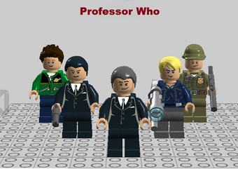 Professor who front cover