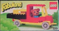 329-Bernard Bear and Pickup Truck