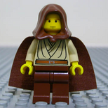 Obi-Wan Kenobi young hood cape
